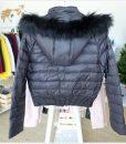 W045 เสื้อแจ็คเก็คสั้นสีดำ 1