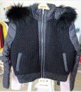 W045 เสื้อแจ็คเก็คสั้นสีดำ 2
